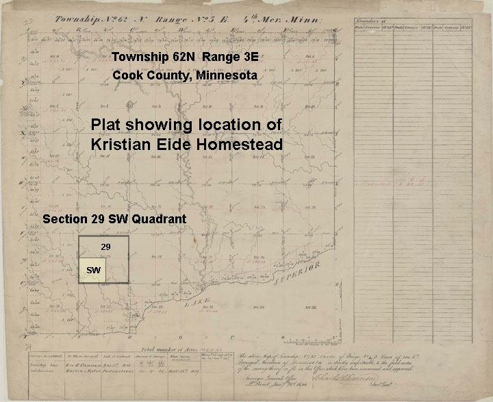 homestead act of 1862 map. The Eide#39;s laid claim to 160